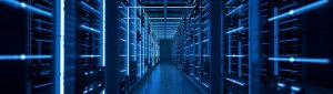 Server racks in computer network